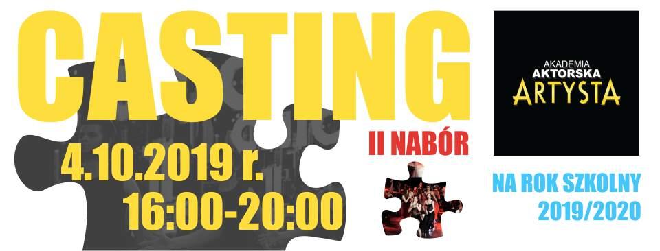 CASTING 2019 – II NABÓR