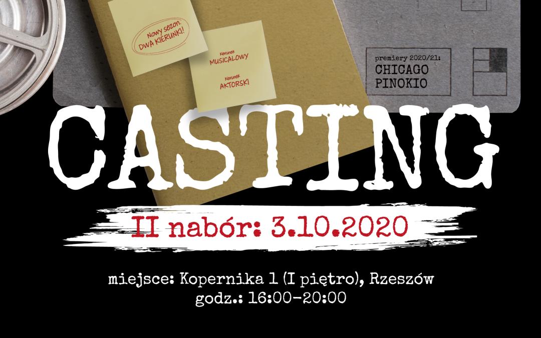 CASTING 2020/2021 – II NABÓR